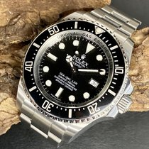 Rolex Sea-Dweller Deepsea Сталь 44mm Черный