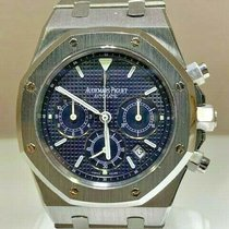 Audemars Piguet Royal Oak Chronograph Steel 39mm Blue United States of America, California, Newport Beach