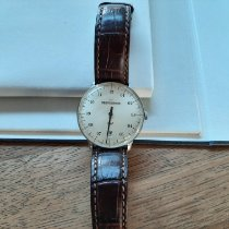 Meistersinger Steel Automatic Champagne Arabic numerals 36mm pre-owned Neo