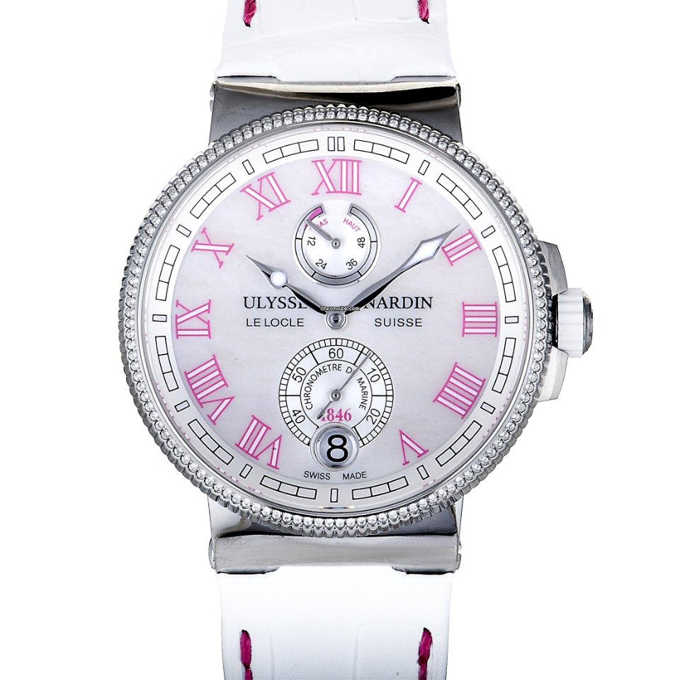 Ulysse Nardin Marine Chronometer Manufacture 1183-126B/470 new