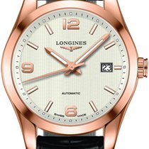 Longines Conquest Classic Rose gold 40mm Silver United States of America, California, Moorpark