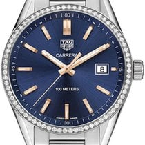 TAG Heuer Carrera Lady Steel 39mm Blue United States of America, California, Moorpark