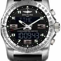 Breitling Cockpit B50 new Quartz Chronograph Watch with original box EB501022-BD40-154S