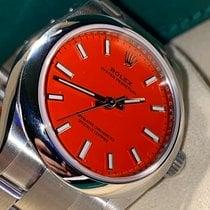 Rolex Oyster Perpetual 31 Acero 31mm Rojo Sin cifras