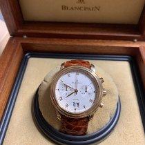 Blancpain Villeret Pозовое золото 38mm Белый Римские