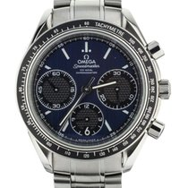 Omega Speedmaster Racing Ocel 40mm Modrá