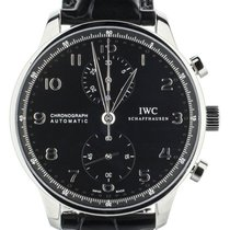 IWC Portuguese Chronograph new Automatic Chronograph Watch with original box and original papers IW371447