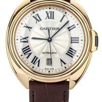 Cartier Clé de Cartier Roségold 40mm Silber