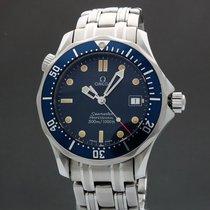 Omega Seamaster Diver 300 M Steel 36.2mm Blue United States of America, New York, White Plains