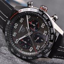 TAG Heuer Carrera Porsche Chronograph Special Edition Stahl Grau