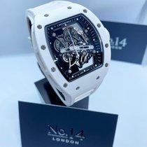 Richard Mille RM 055 Ceramic 49.9mm Transparent No numerals