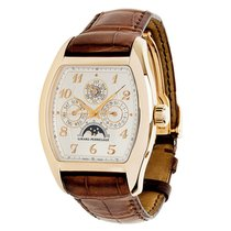 Girard Perregaux Richeville Rose gold 38mm Silver Arabic numerals United States of America, New York, New York
