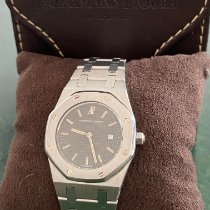 Audemars Piguet Royal Oak Otel 30mm Negru Fara cifre