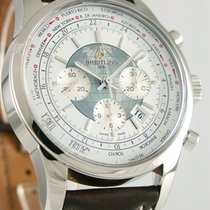 Breitling Transocean Chronograph Unitime Stahl 46mm Weiß Deutschland, Heilbronn