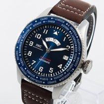 IWC Stahl 46mm Blau Arabisch