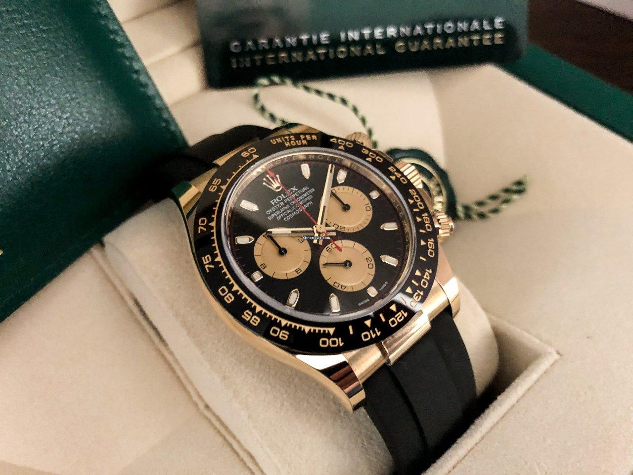 Rolex Daytona 116518LN 2021 nieuw