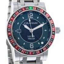 Graham Steel 42mm Automatic Graham  Lucky Vegas 2TZAS.B09A.A20F  Automatic new