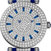 Franck Muller Double Mystery White gold 42mm Silver No numerals