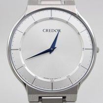 Seiko Credor Steel 35mm Silver