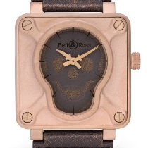Bell & Ross Bronze Automatic Black 46mm pre-owned BR 01-92