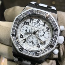 Audemars Piguet Royal Oak Offshore Lady Steel 37mm Silver Arabic numerals United States of America, New York, New York