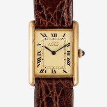 Cartier Tank Vermeil 23mm United States of America, New Jersey, Garwood