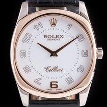 Rolex Cellini Danaos Oro rosa 34mm Nero Arabi Italia, Roma