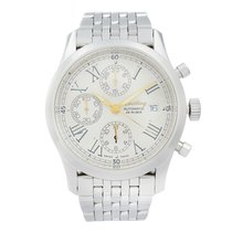 Breitling Navitimer Steel 40mm Silver Roman numerals United States of America, New York, NYC
