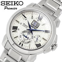 Seiko Premier Kinetic Perpetual new 2021 Automatic Watch with original box SNP139P1