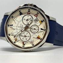 Corum Admiral's Cup Legend 42 nuevo 2021 Automático Cronógrafo Reloj con estuche y documentos originales А984/03178