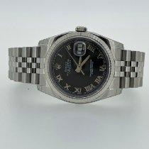 Rolex Datejust nuovo 2009 Automatico Orologio con scatola e documenti originali 116234