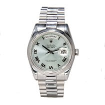 Rolex Day-Date 36 Platinum 36mm Blue Roman numerals United States of America, Arizona, Scottsdale