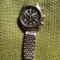 Omega Dynamic Chronograph Acero Negro Arábigos España