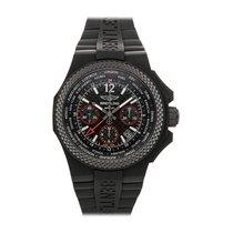 Breitling Bentley B04 GMT Carbon 45mm Black No numerals