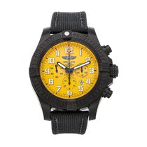 Breitling Avenger Hurricane 50mm Yellow Arabic numerals United States of America, Pennsylvania, Bala Cynwyd