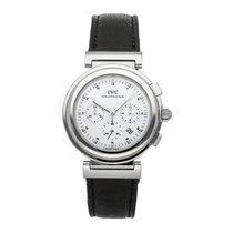 IWC Da Vinci Chronograph Acero 37mm Blanco