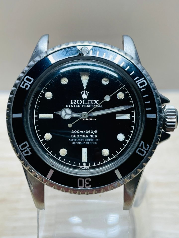Rolex Submariner (No Date) 5512 1963 pre-owned