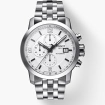 Tissot PRC 200 new 2019 Automatic Chronograph Watch with original box and original papers T055.427.11.017.00