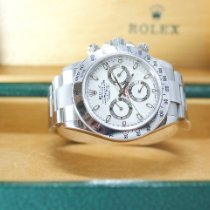 Rolex Daytona Steel 40mm White No numerals Australia, 6076