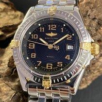 Breitling Wings Lady Золото/Cталь 31.5mm Черный