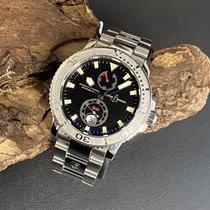 Ulysse Nardin Maxi Marine Diver Сталь 42mm Черный