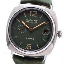 Panerai Radiomir 8 Days Titanio 45mm Verde Arábigos