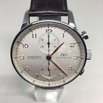 IWC Portuguese Chronograph Acier Argent Arabes Belgique, koksijde