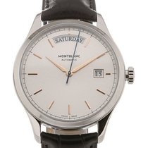 Montblanc Steel 38mm Automatic 118224 new