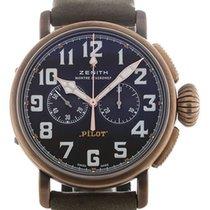 Zenith Pilot Type 20 Extra Special Bronze 45mm Black