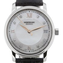 Montblanc Steel Automatic Mother of pearl 37mm new Tradition