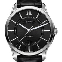 Maurice Lacroix Pontos Day Date 41mm Black