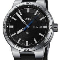 Oris Steel 42mm Automatic 01 735 7752 4154-07 4 24 06FC new