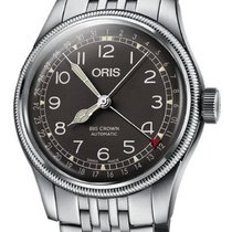 Oris 01 754 7741 4064-07 8 20 22 Steel 2020 Big Crown Pointer Date 40mm new