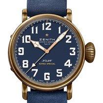 Zenith Pilot Type 20 Extra Special Bronze 45mm Blue